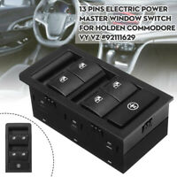Electric Power Master Window Switch Control New For Holden Commodore VY VZ Black