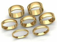 Domed Milgrain Band Ring Mens Womens 2mm 3mm 4mm 5mm 6mm 7mm 8mm Solid 10k Gold