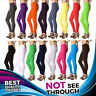 Cotton Leggings Full Length All Colors and Plus Sizes