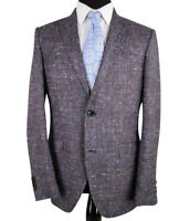 ETRO NWT Sport Coat Size 40R In Blue with Multicolor Fleck and Geometric