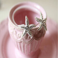 Wedding Bridal Hairpin Jewelry Starfish Crystal Rhinestone Hair Clip Pin Best