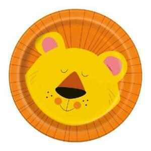 """Animal Jungle 7"""" Plates - Pack of 8"""