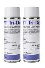 Tri-Die Aerosol Pressurized Dust BASF (2 Cans) Bed Bugs Roaches