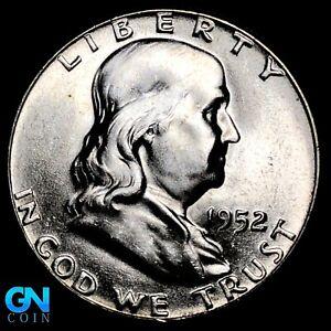 1952 P Franklin Half Dollar  --  MAKE US AN OFFER!  #K7559