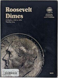 1946-1964 PDS 90% Silver Roosevelt Dime Set 171828p