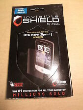 NEW Zagg Invisible Shield for Spring HTC hero Screen Protector *FREE SHIPPING*