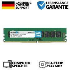 4GB DDR4 RAM PC4-2133P 1Rx8 2133 MHz 1.2V UDIMM Desktop PC Arbeitsspeicher CL15