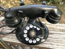 Vintage Western Electric Model E1 EI Black Rotary Dial Telephone