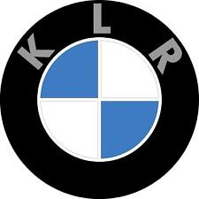 "#3305 (1) 2.5"" KLR ADV Rondel Funny Sticker Decal LAMINATED KLR650 KLR250"