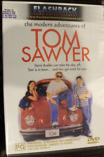 THE MODERN ADVENTURES OF TOM SAWYER OOP RARE DELETED PAL REGION 4 DVD HUCK FINN