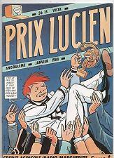 Publicitaire. Prix Lucien Angoulême 1988. Plaquette par JC DENIS.