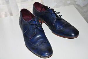 Mens Ted Baker Shoes UK 8 Blue