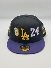 Rare New Era LA Kobe Bryant Mamba 2 Tone Hat