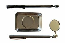 Telescopic Mirror Pick-up Tool Magnetic Tray 3 pcs Magnetic Tool Set /97818