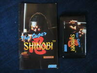 The Super Shinobi Mega Drive MD Sega Used Japan Action Game 1989 Boxed Tested