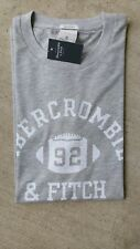 ABERCROMBIE & FITCH SHIRT【 SMALL 】SIGNATURE LOGO 124-239-1716-900 【 NEW 】