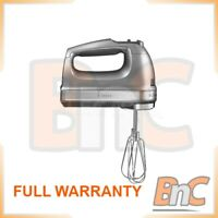 Electric Hand Mixer KITCHENAID 5KHM9212E Graphite 9 Speeds Whisk 85W Handheld