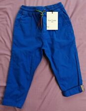 Paul Smith Baby Boy's Blue Trousers Size 24 Months 2 Years New With Tags