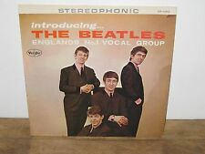 RECORD AUTHENTIC VJ COUNTERFEIT THE BEATLES ENGLANDS NO.1 VOCAL GROUP SR 1062
