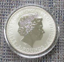 UK 2004 silver £2 BRITANNIA coin