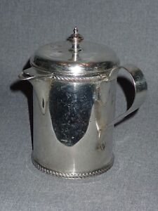 Antique Trophy Nassau Cup 1926 Silverplate Coffee / Tea Warming Pot Pitcher