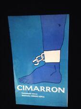 "Rostgaard. ""Cimarron 1967"" ICIAC Cuban Cinema Poster 35mm Art Slide"
