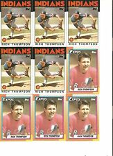 16 CARD RICH THOMPSON BASEBALL CARD LOT           119