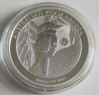 Australien 1 Dollar 2014 Kookaburra F15 Privy 1 Oz Silber