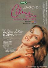 Celine Dion - 1999 Japan concert flyer tour handbill small poster