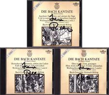 Helmuth RILLING Signiert BACH CHRISTMAS ORATORIO Arleen Auger Peter Schreier 3CD