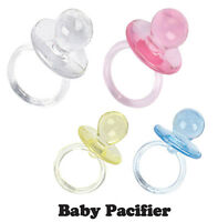 """2-1/2"""" Pacifiers Baby Shower Party Game Decoration Favor, Baby Shower (36-Pcs)"""