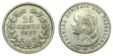 Netherlands - 25 Cent 1897