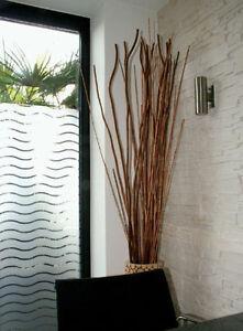 Premium Dekor Fensterfolie Wellen weiß matt Sichtschutzfolie - 1,52 m x 1 m