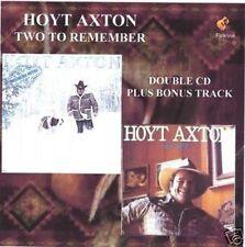 Hoyt Axton Double CD Snowblind Friend & Free Sailin' (Available as MP3s)