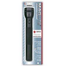 Maglite Heavy-Duty Incandescent 3-Cell D Flashlight, Black
