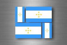 4x adesivi adesivo sticker bandiera vinyl tuning tahiti polinesia