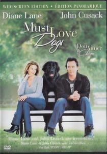Must Love Dogs (2005 DVD, Canadian, Widcreen) Diane Lane, John Cusack