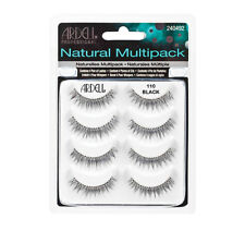 ARDELL  Natural Multipack False Eyelashes 4 Pairs Black 110 NEW
