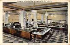 Toronto Canada Traymore Savarin At Bay Interior Antique Postcard K96640