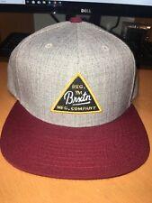 Brixton BRXTN Adult Adjustable Hat Baseball Cap Acrylic Wool New 065c2c3c558a