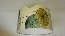 "12""/30cm BLUE/GREY Sanderson Wallpaper  DANDELION CLOCKS  LAMPSHADE ."