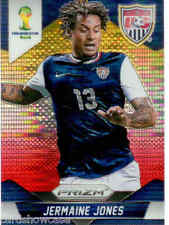 2014 World Cup Prizm Yellow Red Parallel No.67 J.JONES (UNITED STATES)