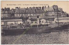 CPA 35400 SAINT MALO le Paquebot Saint Brieuc service de Jersey Edit LAMIRé