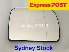 RIGHT DRIVER SIDE BMW X5 E53 2000 - 2006 CHROME MIRROR GLASS WITH HEATER