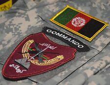 KANDHARA TALIZOMBIE© WHACKER PRO-TEAM AFG NATIONAL ARMY ANA COMMANDO SSI W/FLAG