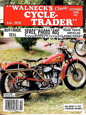 Walneck Cycle Trader Magazine #81 OCT 1990 Motorcycle