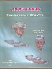 1982 Circus Circus Thunderboat Regatta Commemorative Issue Race Program