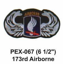 """173RD AIRBORNE Embroidered Military Extra Large Patch (6 1/2"""")"""