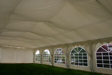Marquee lining material: Flame retardant fabric