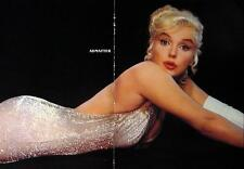 MARILYN MONROE VINTAGE 2-SIDED PIN-UP CENTERFOLD POSTER 3 SEXY PHOTO'S